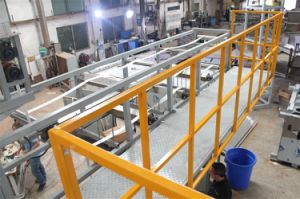 Lashing Straps Continuous Dyeing&Finishing Machine with Elongation Function pictures & photos