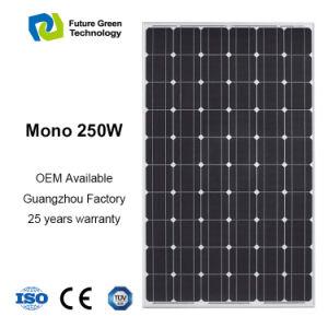 250W Energy Photovoltaic Power Monocrystalline PV Panneau Solaire pictures & photos
