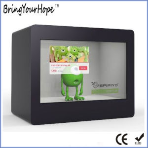 21.5 Inch Windows I3 Transparent LCD Display Showcase (XH-DPF-215A) pictures & photos