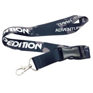 Customized Design Blue Color Medal Lanyard with Accessory pictures & photos
