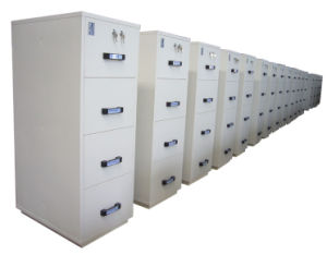 OEM Customized Best Selling Single Color Glass Door File Cabinet pictures & photos