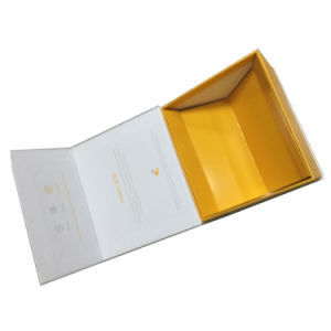 Elegant Foldable Cardboard Paper Gift Box pictures & photos