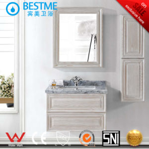 Modern Style Single Sink Bathroom Cabinet (BY-X7103) pictures & photos