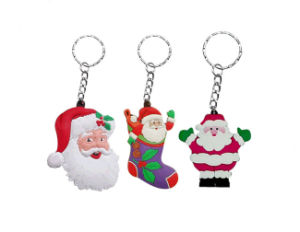 High Quality PVC Keychain for Christmas Gift (YB-k-038) pictures & photos