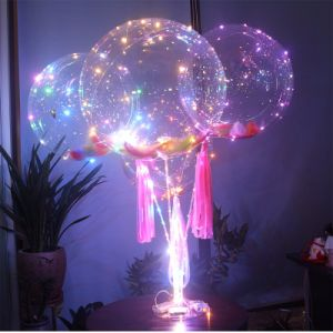 Romantic Helium Bobo Balloon LED Christmas String Light pictures & photos