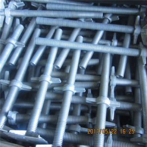Base Jack and U Head Jack for Ringlock Scaffolding pictures & photos