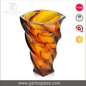 Large Color and Frosted Glass Vase pictures & photos