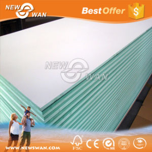 White Melamine Green MDF / Moisture Resistant MDF Board pictures & photos