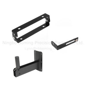 Various Precision Stamping in Black Powder Coated pictures & photos
