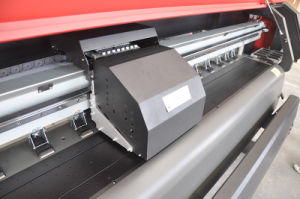 Canvas Printer Km-512I 3.2m with Spt510/50 Heads for Outdoor Printing pictures & photos