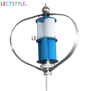 12V24V 400W Vertical Axis Residential Wind Turbine for Sale pictures & photos