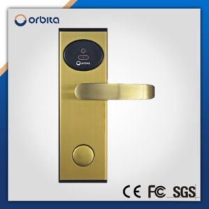 High Security Ce Certificated Digital Hotel Door Lock RFID Card Hotel Lock pictures & photos