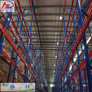 Hot Sale Narrow Walkways Drive Pallet Racking pictures & photos