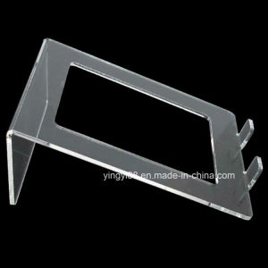 Yyb Black or Clear Acrylic Laptop Stand pictures & photos