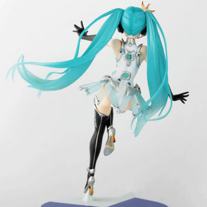 Long Hair Beautyful Girl Plastic Anime Figure Model pictures & photos