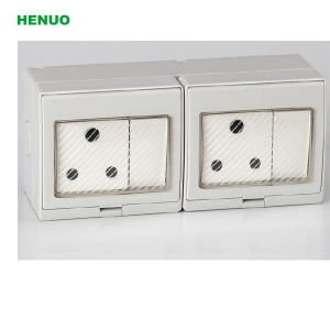 Middle East IP55 Waterproof Switch Socket pictures & photos