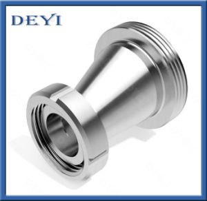 Stainless Steel Sanitary Male Female Thread Eccentric Reducer (DY-R08) pictures & photos