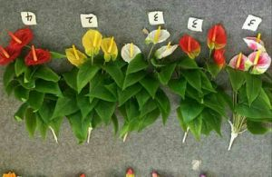 High Quality of Artificial Flowers of Anthirium Gu1495851760906 pictures & photos