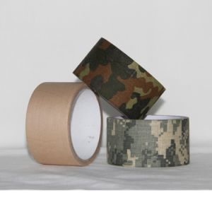 Pure Cotton Backing Camouflage Camo Duct Tape Camouflage Gun Tape pictures & photos