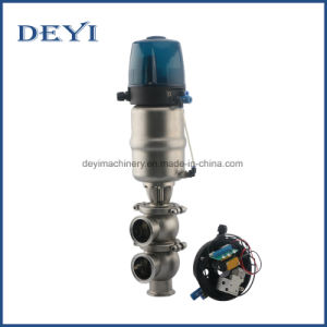 Sanitary Electric Stop and Reversing Valve with Position Sensor pictures & photos