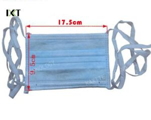 Disposable Surgical Stock Face Mask Manufacturer Earloop pictures & photos