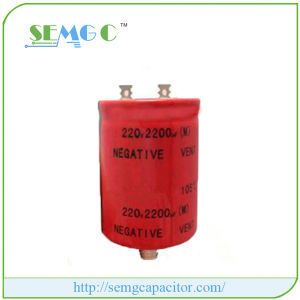3900UF 400V Aluminum Electrolytic Capacitors Fan Capacitor pictures & photos