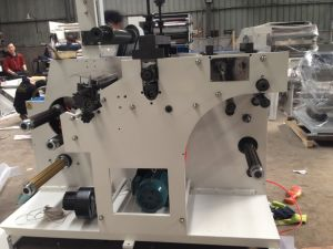 Slitting and Rotary Die-Cutting Machine with Two Shafts Changeable pictures & photos