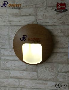 Hot Sales Round LED Light 3W LED Wall Light in IP65 pictures & photos