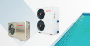 Swimming Pool Heat Pump for Residential Use with High Cop