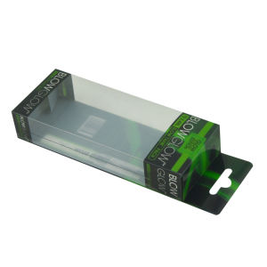 Transparent PVC Blister Packaging Bag Box for E-Cigarettes