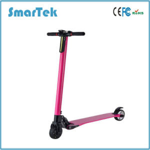 Smartek Foldable Electric Scooter Electric Bike Folded Electric Scooter Patinete Electrico with Lithium Battery for Outdoor Sport S-020 pictures & photos