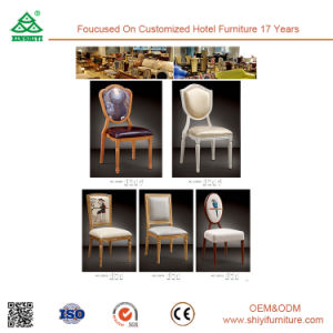 New Designed Exquisite Wooden Looking Dining Chair pictures & photos