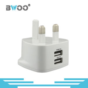Factory Universal UK USB Travel Charger with High Quality pictures & photos