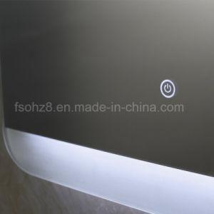 Customized Design Stainless Steel Illuminated Bath Mirror pictures & photos