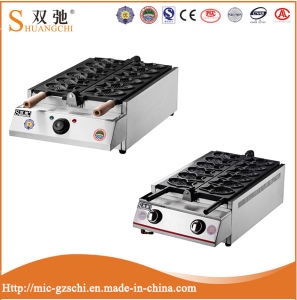 Hot Sale Gas Fish Cake Machine with Stainless Steel pictures & photos
