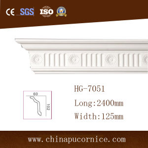 High Density PU Polyurethane Cornice Crown Moulding pictures & photos