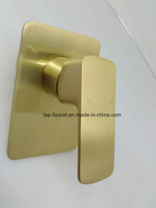 Kaiping Manufacturer Brushed Gold Finish Advanced Artisan Rain Shower pictures & photos