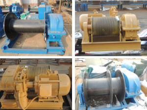 Slow Speed Small Drum Electric Lift Winch for Anchor pictures & photos