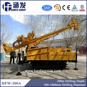 200m Borehole Drilling Machine for Sale (HFW200A) pictures & photos