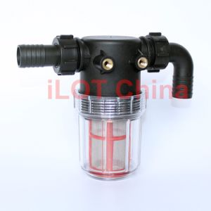 Ilot Sanitary Pre Water Solution Transparent Bottle Filter Filtrator pictures & photos