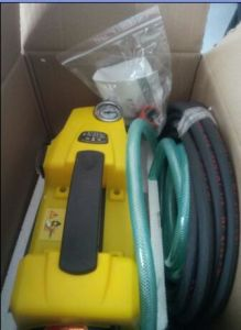 Portable Yellow Color Domestic Car Washer Cc-288 High Pressure Cleaner pictures & photos