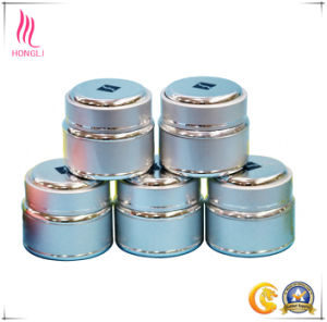 25g Glossy Silver Color Round High-End Jar pictures & photos