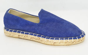 Kid′s Casual Canvas Espadrille Flat Shoes pictures & photos