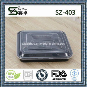 4compartment Disposable Plastic Lunch Box Factory Wholesale High Quality pictures & photos