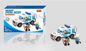 Heroic Series Police Car Blocks Toy pictures & photos