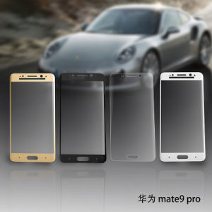 3D Curved 9h Tempered Glass Screen Protector for Huawei Mate9 Porsche pictures & photos