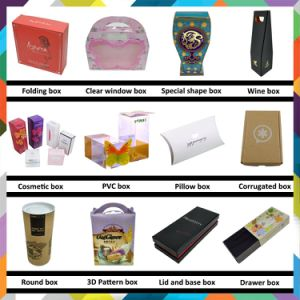 High Quality Customized Folding Color Box with Embossed Surface Finish pictures & photos