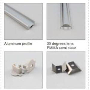 4224 High Quality LED Extrusion for LED Strip Light/LED Channel pictures & photos
