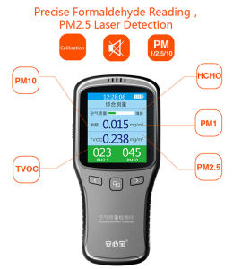 Vson Factory Supply Low Price Multi Air Quality Detector with Colorful LED Display pictures & photos