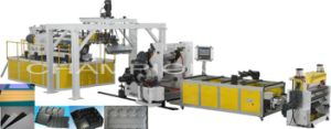High Efficency Pet Twin-Screw Plastic Sheet Production Line pictures & photos